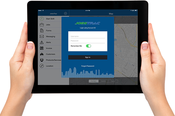 Mobile Workforce Management App
